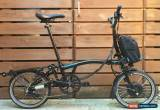Classic ORIGINAL ELECTRIC BROMPTON M-TYPE M6R 6 SPEED FOLDING BIKE - WORLDWIDE POSTAGE for Sale