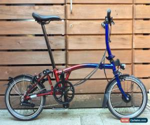 Classic BROMPTON LIMITED NINE STREET EDITION S6L FOLDING BIKE BICYCLE WORLDWIDE POSTAGE for Sale