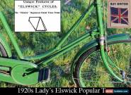1920s Lady's Elswick Popular Truss Vintage Bicycle (Gents' available separately) for Sale