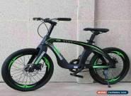 "DOUBLE DISC Brake 20"" Kids Mountain Bike Green & Black magnesium alloy frame for Sale"