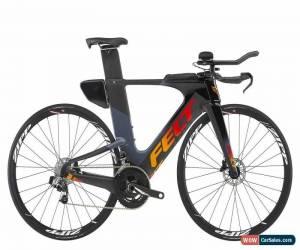 Classic 2019 Felt IA2 Disc Carbon Triathlon Bike // TT Time Trial Sram Red eTap 51cm for Sale