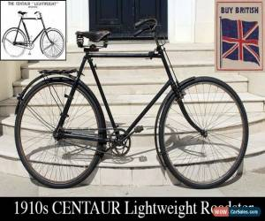 Classic 1910s CENTAUR (Humber) Lightweight Roadster Tricoaster Vintage Antique Bicycle  for Sale
