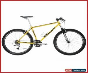 "Classic BIANCHI TITANIUM MOUNTAIN BIKE CROSS COUNTRY 26"" SHIMANO XT 90s VINTAGE SIZE S/M for Sale"