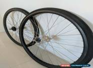 DURA ACE 7600 NJS UD Carbon Track Bike Wheelset with cog and tyres for Sale