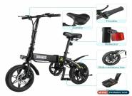 "Electric Bike EBike 250W 36V 7.5Ah Battery 14"" Tyre Folding Mountain E-Bike EU for Sale"