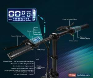 "Classic Electric Bike EBike 250W 36V 7.5Ah Battery 14"" Tyre Folding Mountain E-Bike EU for Sale"