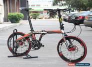 "JAVA FIT Adult Aluminium Folding Bike 20"" 451 Wheel 18 speed Disc Brake Foldable for Sale"