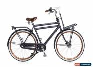 Mens Dutch Bike Opafiets Transportfiets Dutchie Bicycle with Front Carrier 57cm  for Sale