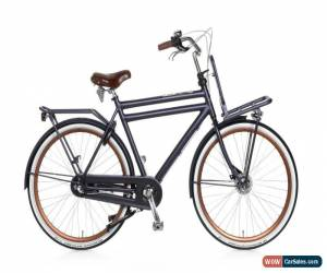 Classic Mens Dutch Bike Opafiets Transportfiets Dutchie Bicycle with Front Carrier 57cm  for Sale