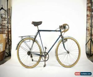 Classic Vintage 40's Bertolino 650B Randonneur Bike Saxon twin tubes V.Rare Herse Singer for Sale