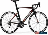 Merida 2019 Reacto 400 Size S-M 52cm Team Black/Red Road Fitness Race Bike for Sale