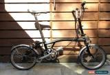Classic BROMPTON M-TYPE M3L BLACK 3 SPEED FOLDING BIKE BICYCLE - WORLDWIDE POSTAGE for Sale