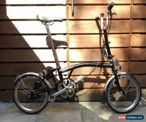 Classic BROMPTON M-TYPE M3L BLACK 3 SPEED FOLDING BIKE BICYCLE - WORLDWIDE POSTAGE for Sale