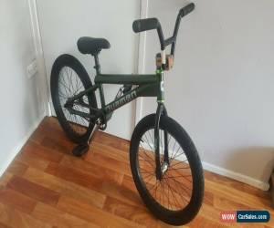 Classic Flatland BMX Mid school (ish) Bike Quamen Clad Frame Odyssey Bars KHE Forks for Sale