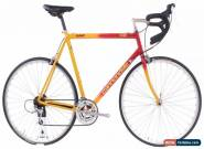 USED 1997 Cannondale CAAD 2 R300 60cm Aluminum Road Bike Red/Yellow Triple for Sale