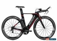 2012 Specialized Shiv Pro Time Trial Bike X-Small Carbon SRAM Red 10s S60 for Sale