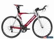 2010 Cervelo P2 Time Trial Bike 48cm Carbon Shimano Ultegra 6700 Easton Vista for Sale