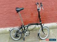 Brompton M6L folding bike shipping worldwide available model 2008 for Sale