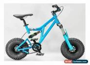 MAFIABIKES Mini Rig FULL SUSPENSION MINI BIKE Teal - Black Wheels for Sale