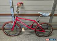 Vintage Old School 80's Red SILVERTON BMX Bike Bicycle for Sale