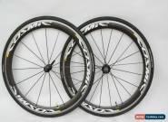 Mavic Cosmic Carbone SLS Road Bike Clincher Wheelset VGC Shimano 9/10/11 Speed for Sale