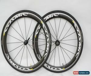 Classic Mavic Cosmic Carbone SLS Road Bike Clincher Wheelset VGC Shimano 9/10/11 Speed for Sale