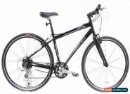 "USED 2010 Trek 7.5 FX 17"" Aluminum Hybrid Bike Shimano 3x9 Speed Black for Sale"