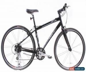 "Classic USED 2010 Trek 7.5 FX 17"" Aluminum Hybrid Bike Shimano 3x9 Speed Black for Sale"