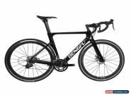 49cm Road Bike Full Carbon Disc Brake 700C Race Frame Alloy Wheels Clincher Pink for Sale