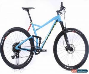 "Classic NEW 2019 Niner RKT RDO 2-Star Large 20"" Green/Blue 29"" Carbon XC Mountain Bike S for Sale"