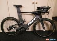 Felt IA1 Black, SRAM Red eTap 22 speed, Zipp 404 Clinchers, Triathlon for Sale