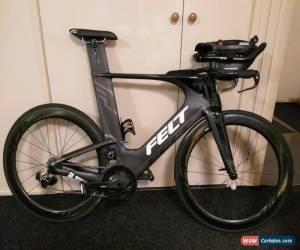Classic Felt IA1 Black, SRAM Red eTap 22 speed, Zipp 404 Clinchers, Triathlon for Sale