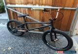 Classic DK Bikes X Model BMX Bike Satin Black Bronze Excellent Condition for Sale