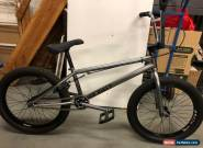DK Bikes X Model BMX Bike Pewter Black Excellent Condition for Sale