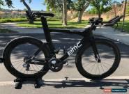 BMC Timemachine TM01 Triathlon Bike M/L w/ ENVE 7.8's, Pioneer Power Meter, Di2, for Sale