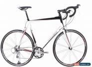 USED 2009 Trek 1.5 64cm Aluminum Road Bike Shimano Sora 3x9 Triple Black White for Sale
