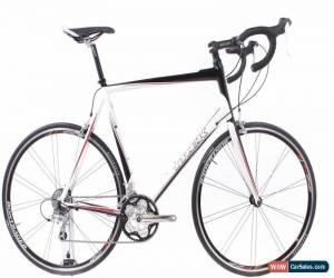 Used 2009 Trek 1 5 64cm Aluminum Road Bike Shimano Sora 3x9 Triple Black White For Sale In United States