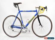 Vintage Cannondale R500 Caad3 Aluminum Road Bike 56cm Blue Campagnolo 8 Speed for Sale