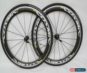 Classic Mavic Cosmic Carbone SLS Road Bike Clincher Wheelset In Excellent Condition  for Sale