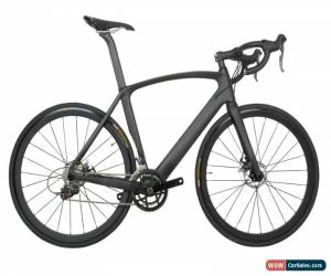 Classic Disc brake AERO Carbon Bicycle Frame Road Bike Shimano 700C Wheels Clincher 58cm for Sale