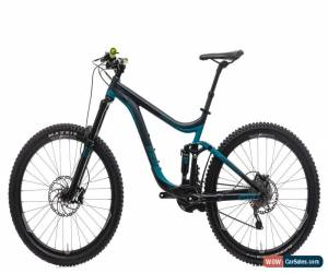 Classic 2015 Giant Reign 2 Mountain Bike Medium 27.5 Aluminum Shimano Deore 10 Speed for Sale