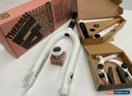 Odyssey White Kit BMX Headset - Fork - Crankset - Brakes for Sale