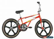 Haro 2019 Lineage Bashguard Team Master 20.75 Bike Red with Skyway Tuff Wheels for Sale