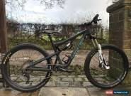 Santa Cruz Bronson v2 cc mountain bike size medium .Good spec 2017 for Sale