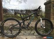 Santa Cruz Bronson v2 cc mountain bike size medium .Good spec 2017 for Sale