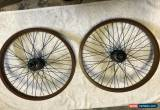 Classic Primo Pro 48h Wheelset Bmx Odyssey S&M Standard Hoffman for Sale