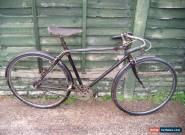 royal enfield duplex twin tube racing bike 1933 original condition rides well for Sale