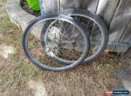 Mountain Bike Front / Rear Wheels with Tyres 26 Inch Alexrims DM18 for Sale