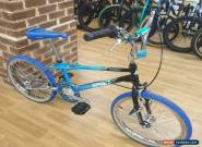 Haro 1988 Vintage Sport Custom Build Old School BMX Bike Blue/Black/Chrome for Sale