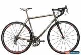 Classic 2009 Moots Compact Custom Road Bike 52cm Titanium Campagnolo Chorus 11s Fulcrum for Sale